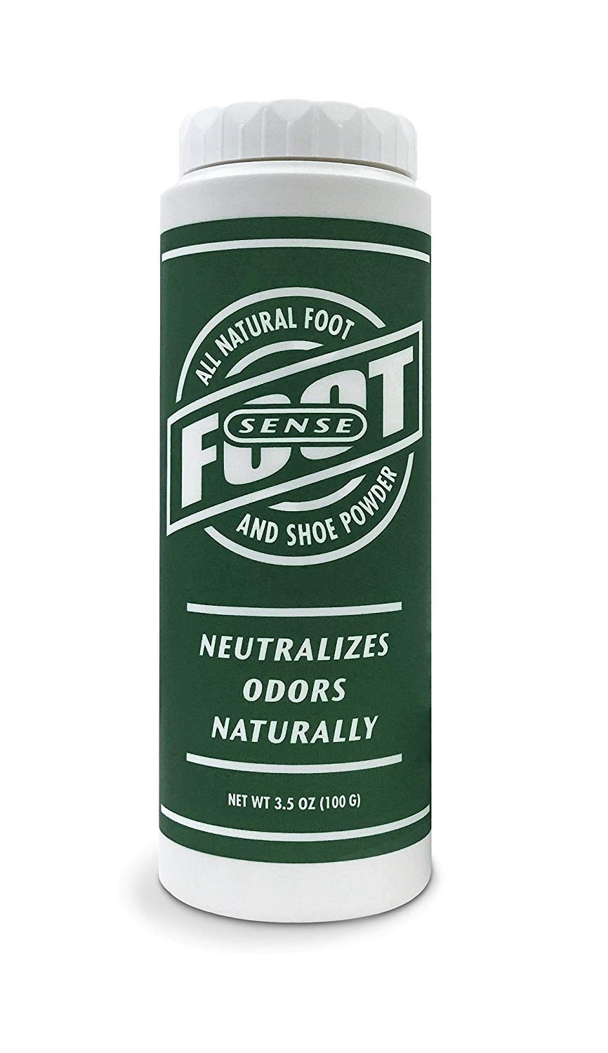 Foot & Shoe Powder - Powerful Odor Eliminator for Smelly Shoes and Stinky Feet