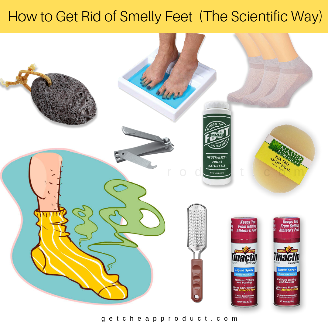 How to Get Rid of Smelly Feet (The Scientific Way)