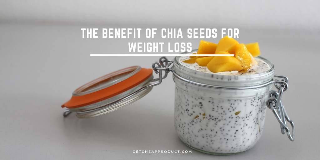 Benefits of chia seeds for weight loss